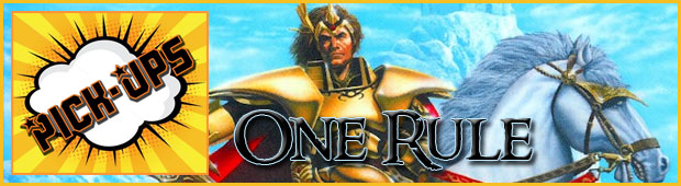 One Rule Banner