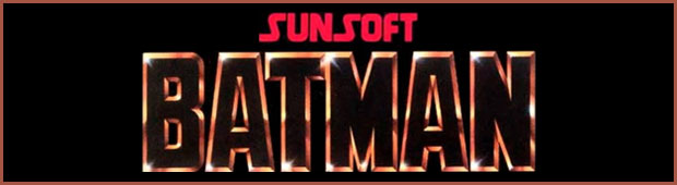 Sunsoft Batman Banner