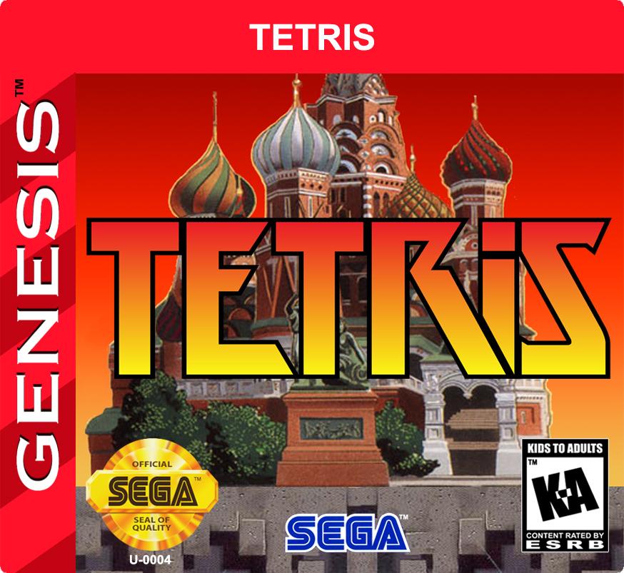 Mega Drive Tetris (5/6)