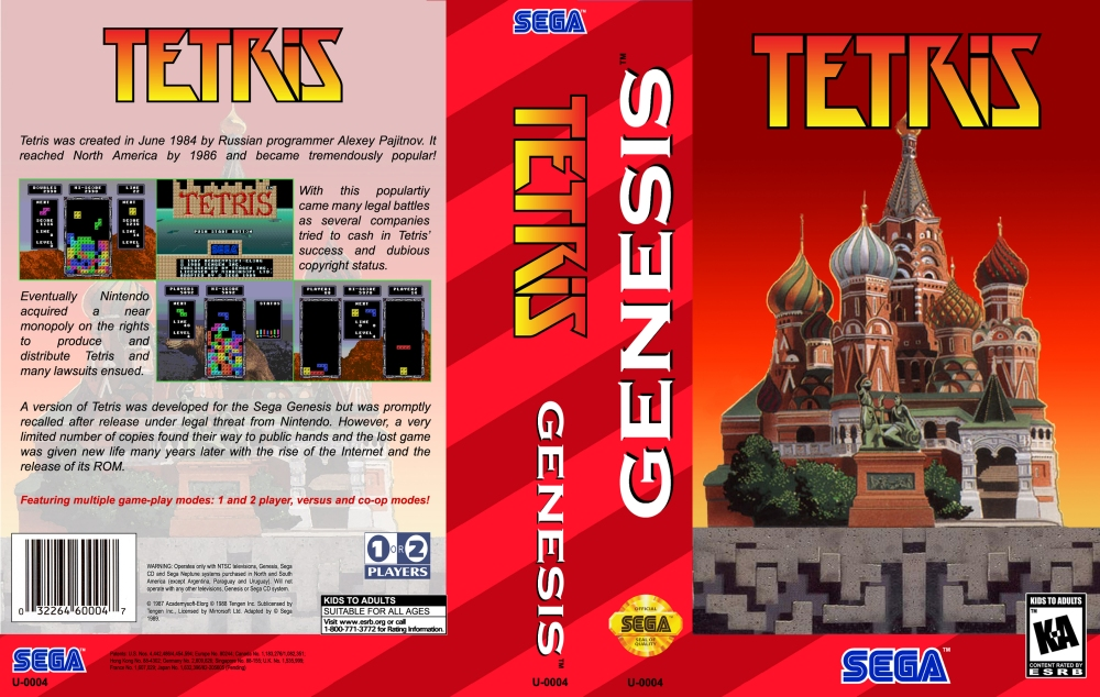 Mega Drive Tetris (4/6)