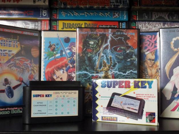 Genesis - Mega Drive Super Key