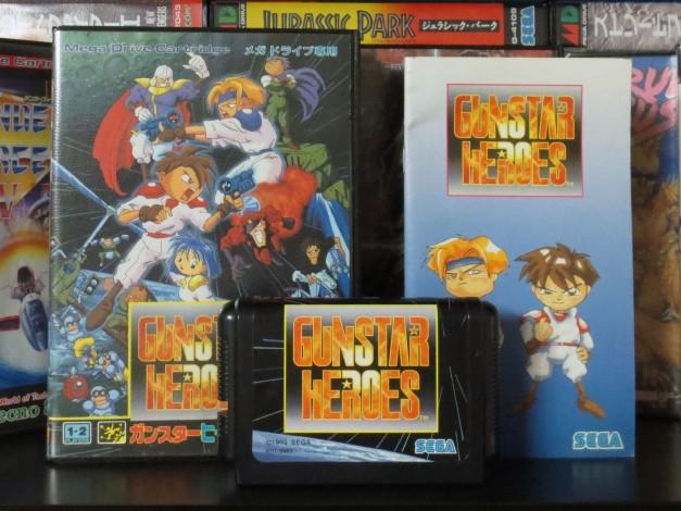 Mega Drive - GunStar Heroes