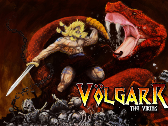Volgarr the Viking Poster