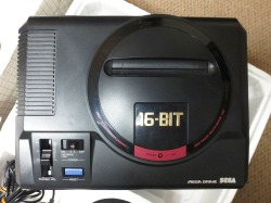 Mega Drive Close Up
