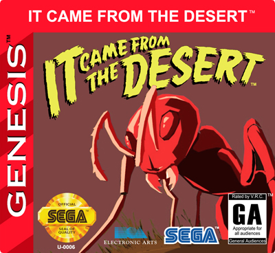 It Came From The Desert And It S Heading To The Genesis Retro