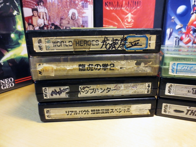 Neo Geo MVS Carts with New Labels 02