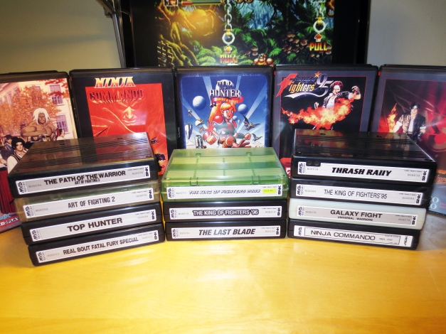 Neo Geo MVS Carts with New Labels 06
