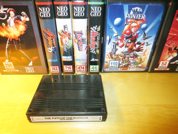 Neo Geo MVS Carts with New Labels 10