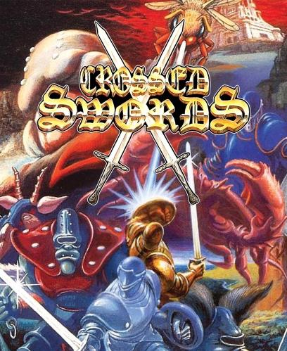 Crossed Swords Mini Marquee