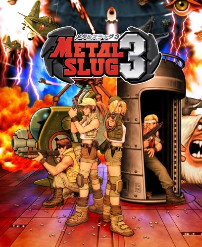 Neo Geo MVS Mini Marquee Metal Slug 3