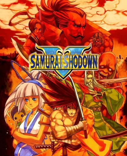 Samurai Shodown 5 Mini Marquee