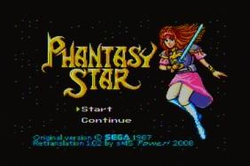 Phantasy Star Title