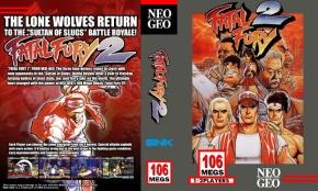 Fatal Fury 2 Custom Cover Art