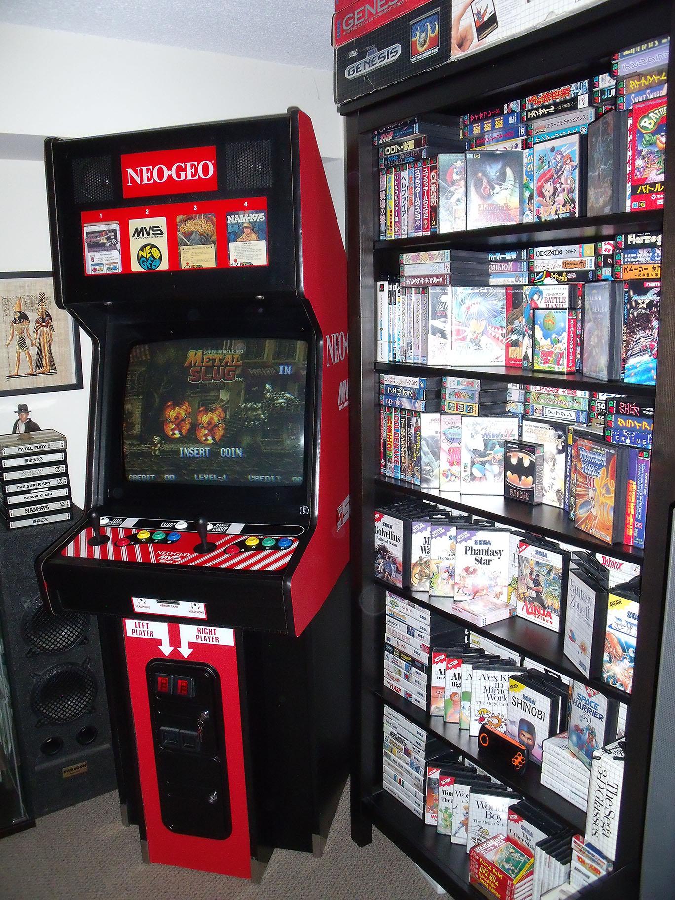 SNK Neo Geo MVS Arcade Cabinet (Big Red) | Retro Megabit