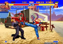 Fatal Fury 2 Screen Shot