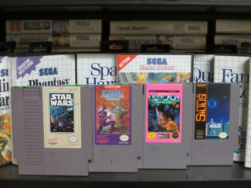 And here are the slightly more expensive games I found today.