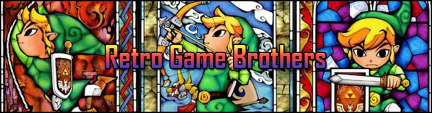 Retro Game Brotheres Banner