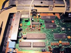 Cut off capacitor.