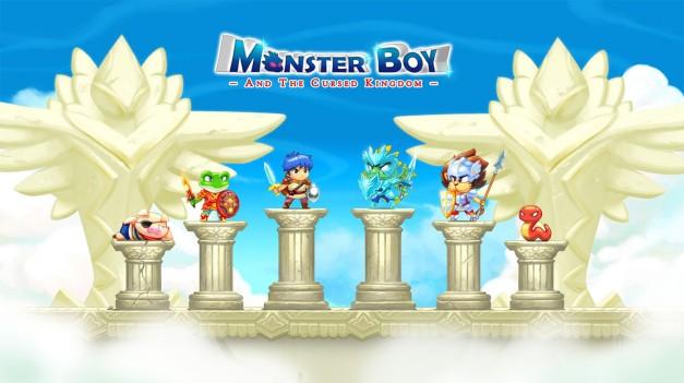 Monser Boy Characters