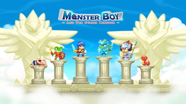 Monser Boy Characters