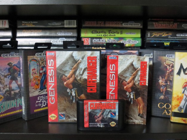 Sega Genesis Cliffhanger