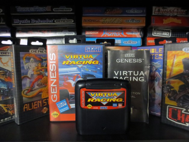 Sega Genesis Virtua Racing