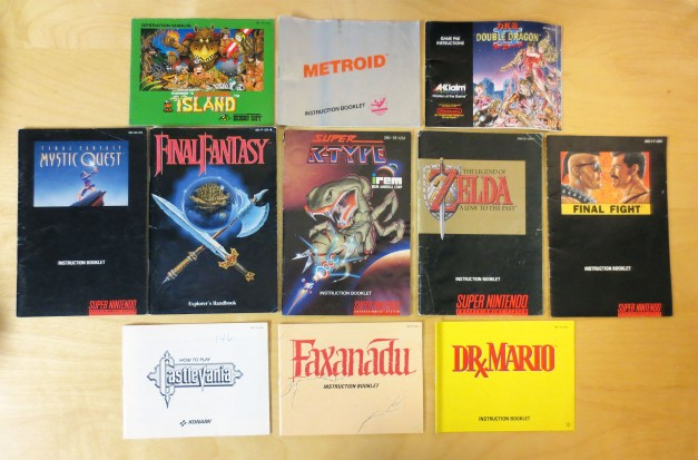 NES and SNES Manuals 01