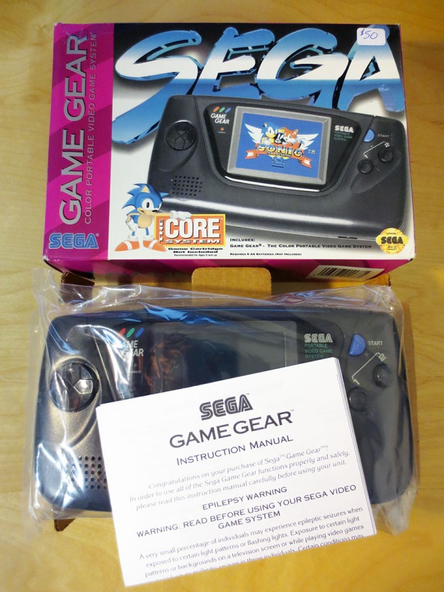 Boxed Sega Game Gear