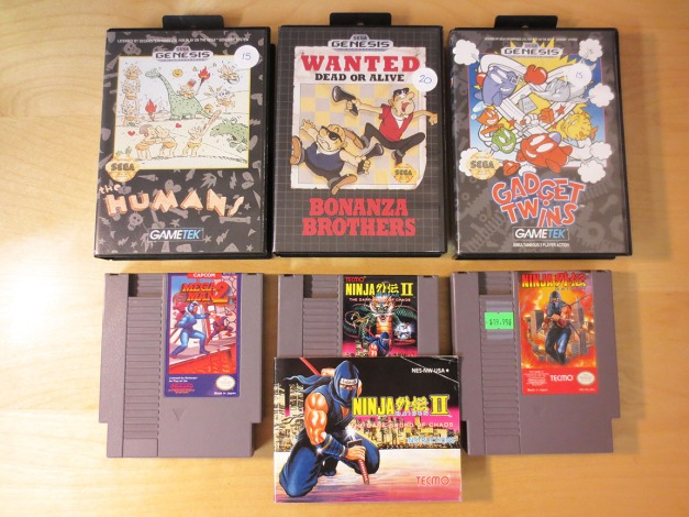 Genesis and NES Games