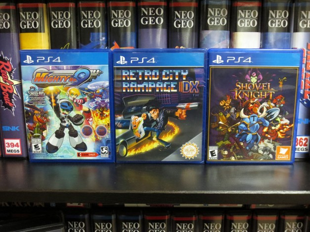 PS4 Indie Games on Disc