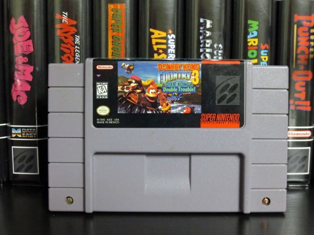 SNES Donkey Kong Country 3