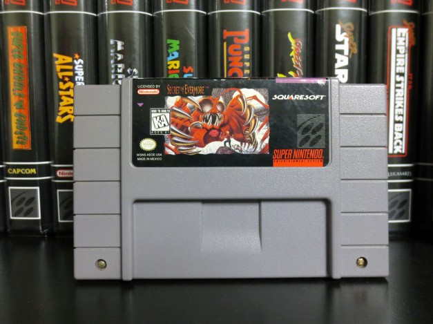 SNES Secret of Evermore
