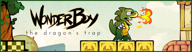 Wonder Boy the dragon's trap Banner