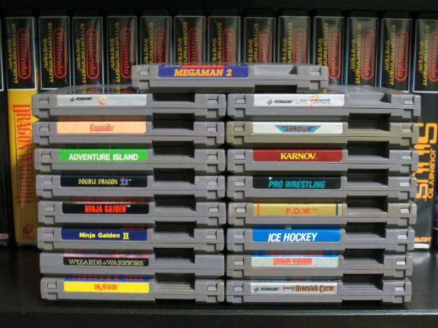 Naked NES Carts