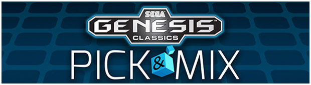 Sega Genesis Classics Pick and Mix Banner