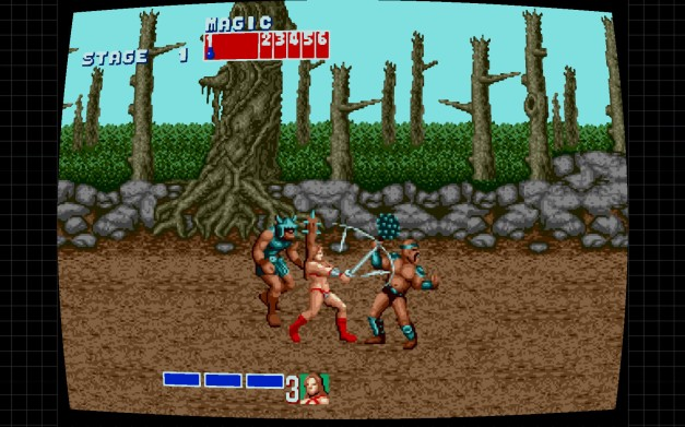 Steam Golden Axe Screenshot 01