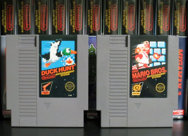 NES - Duck Hunt Super Mario Bros