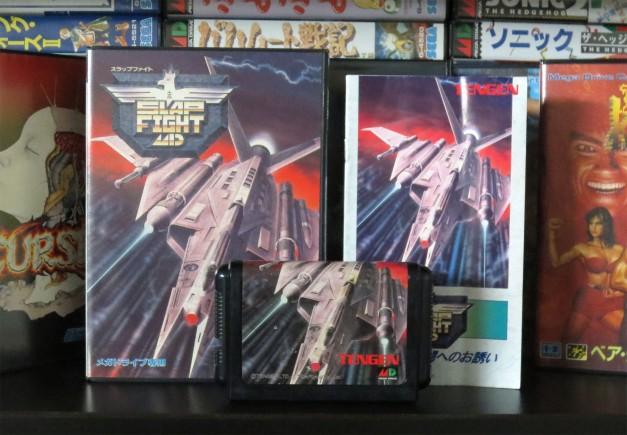 Sega Mega Drive - Slap Fight 01
