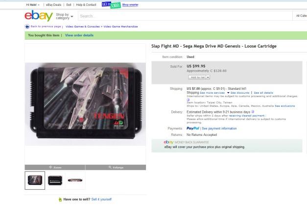 Slap Fight Cart from ebay