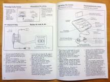 Sega Genesis Inside the Manual