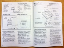 Sega Genesis Inside the Manual