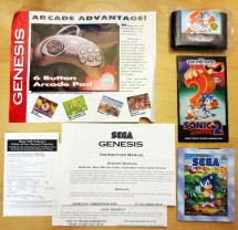Sega Genesis Model 2 Pack in Materials