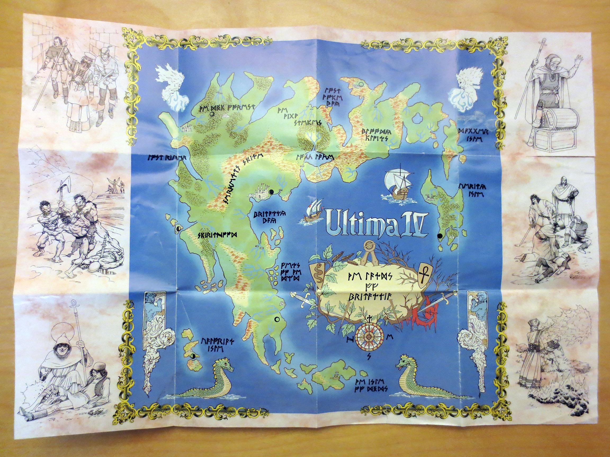 Sega Master System Ultima Iv 02 Retro Megabit