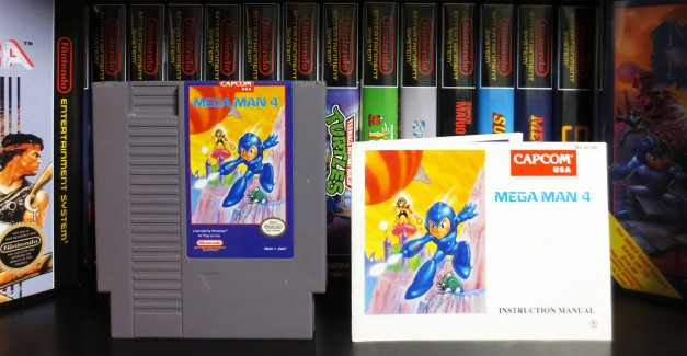 nes-mega-man-4-cart-and-manual