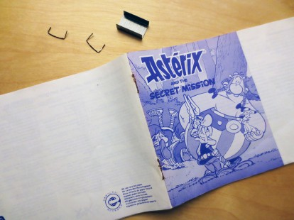 SMS Asterix and the Secret Mission Manual Repair 01