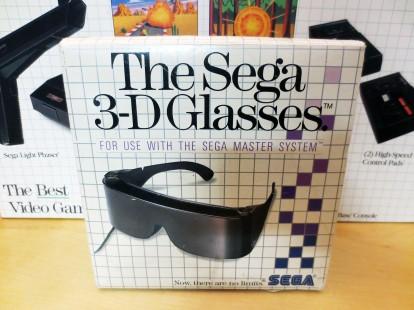The Sega 3-D Glasses 01