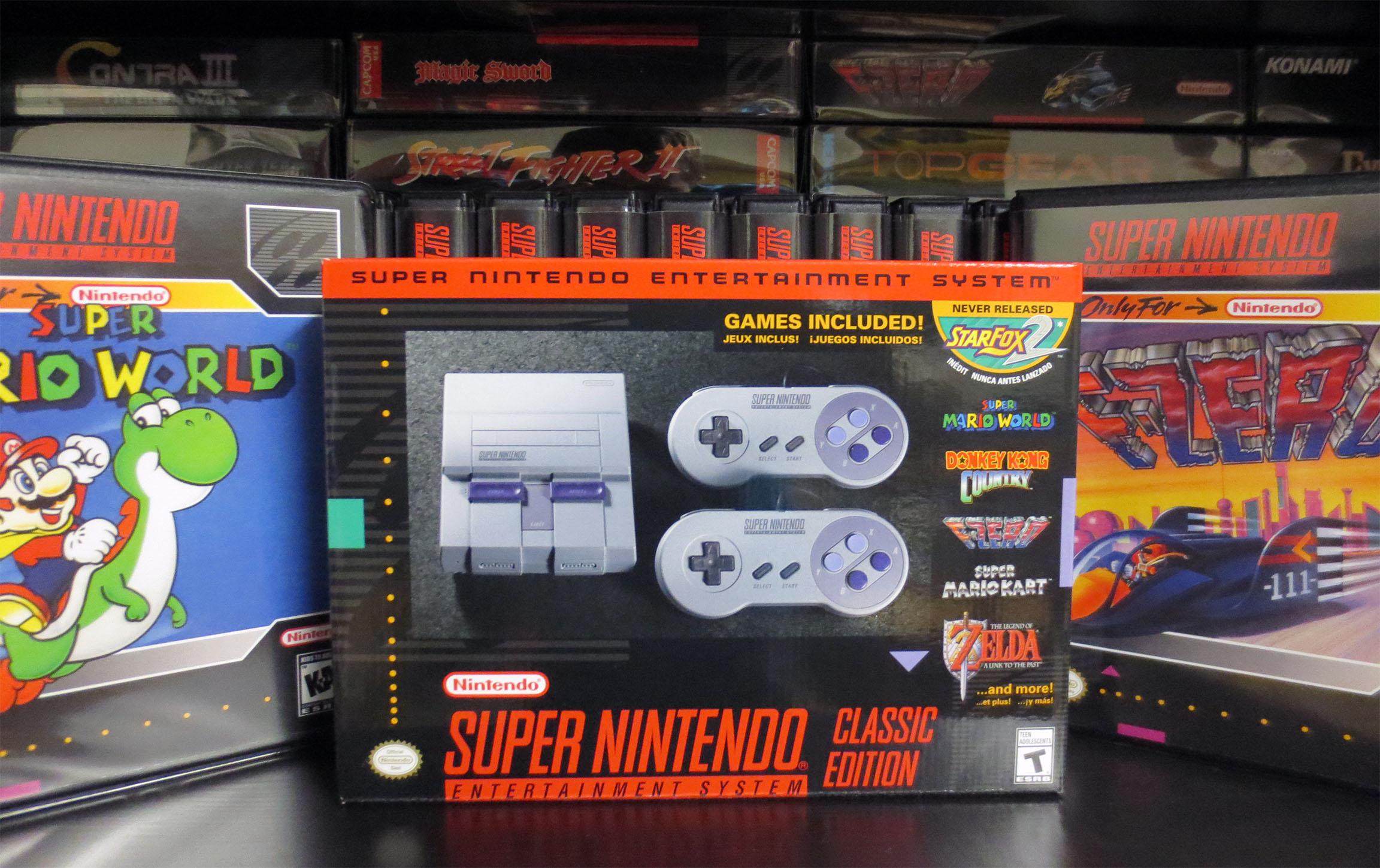 Snes Classic Edition Retro Megabit