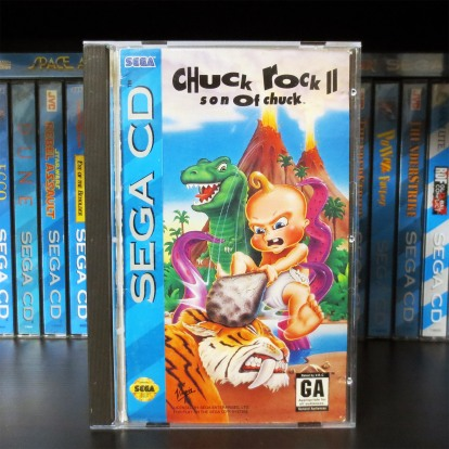 Sega CD Chuck Rock II Son of Chuck