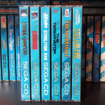 Sega CD Games from Nintendo Joe 01