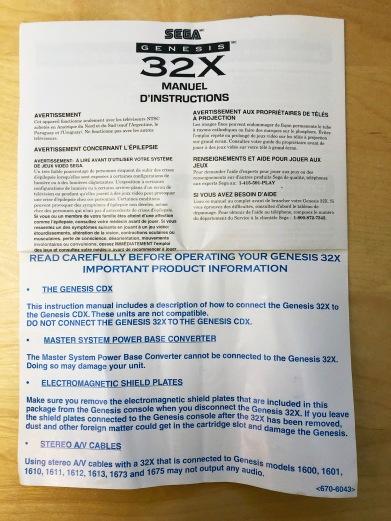 Boxed Sega 32X 09